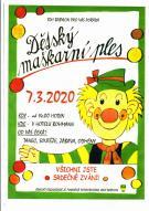 Dětský maškarní ples 7.3.2020